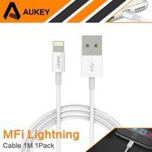 Aukey для MFi Сертифицированный 8-контактный кабель Lightning/USB для IPhone Быстрый USB кабель для зарядки для apple iphone 8 5S 6 6S 7 Plus ipad