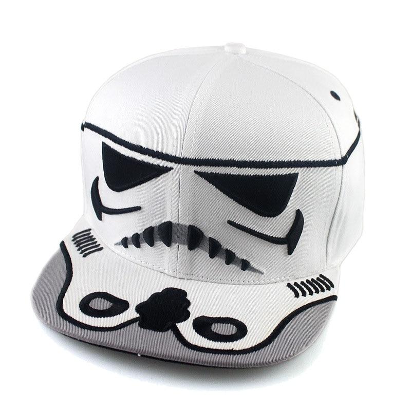 ea40f3944a14a Star Wars 7 Stormtrooper and Darth Vader Cosplay Hat Adjustable Casual  Sport Snapback Fashion Outdoor Hat Men Golf Cap