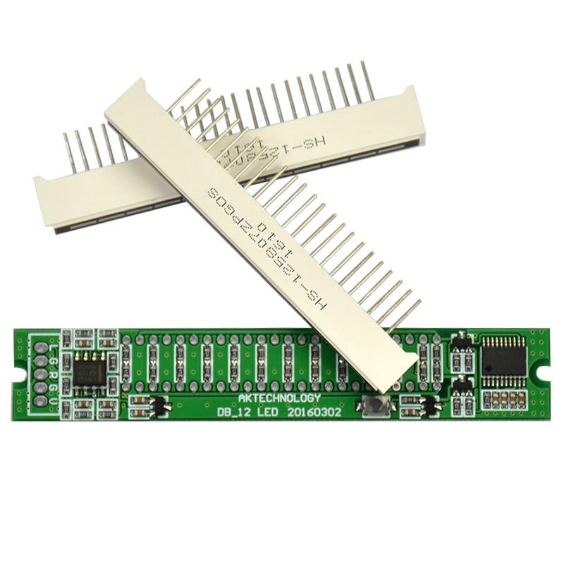 Aiyima Mini Dual 12 Taseindikaator VU Meter Stereo-võimendi Board - Kodu audio ja video - Foto 2