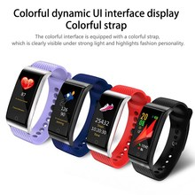 Get more info on the Upgraded F4 Smart Wristband Waterproof IPS Color Screen with Heart Rate Blood Pressure Fitness Tracker Bluetooth V4.2 Bracelet
