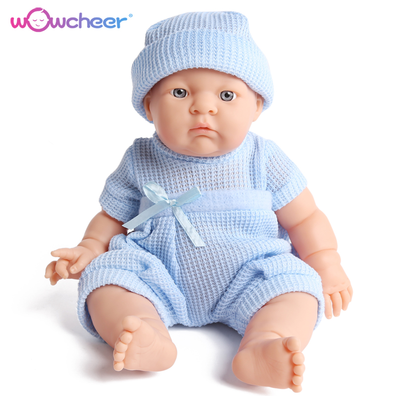 Dolls Toys Vinyl Reborn Baby Simulation Boneca Christmas-Gifts Realistic Children Adorable