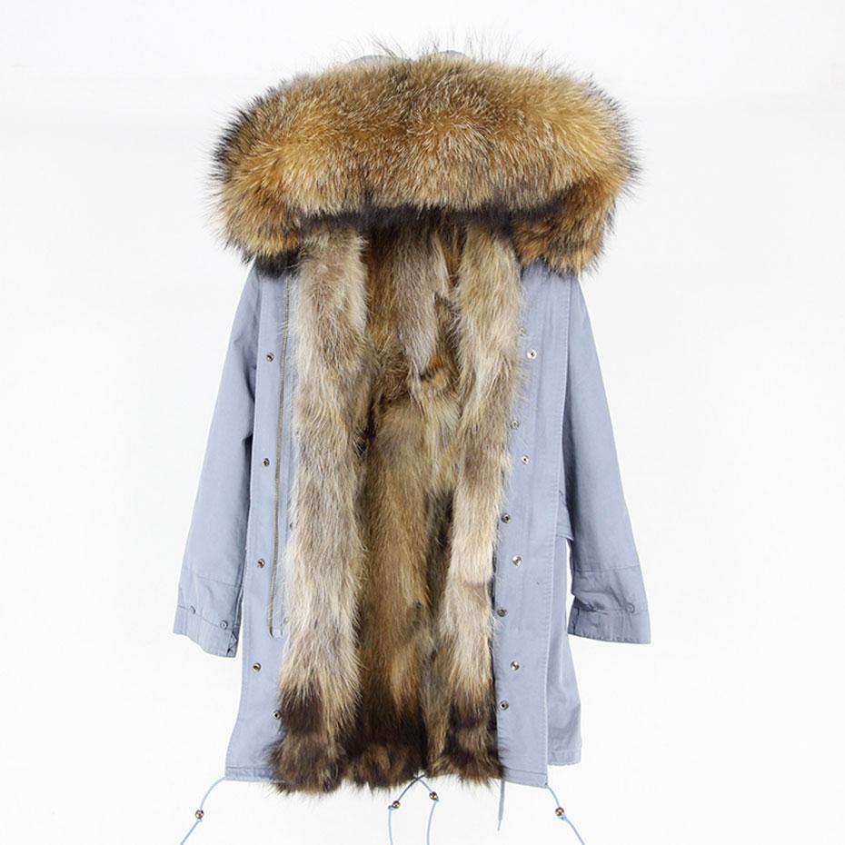 Hooded Fur parka (6)
