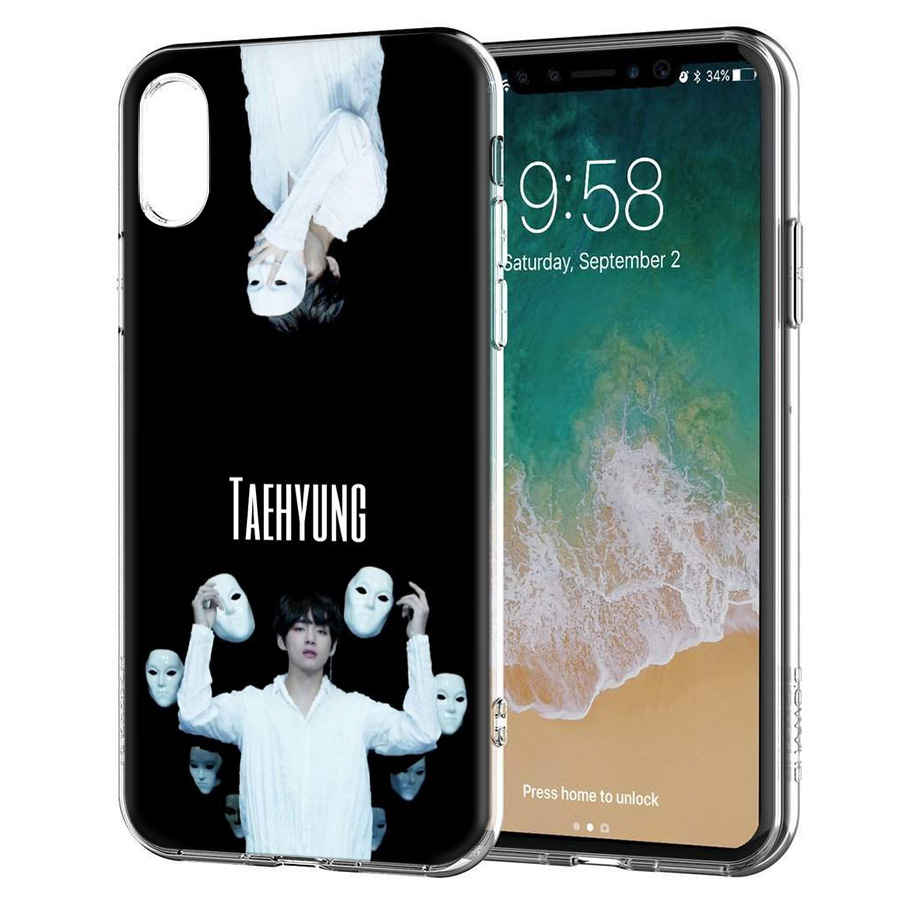Phone Bags & Cases Bts Taehyung Silicone Printed Case For Apple Iphone 7 8 6 6s Plus X Xs Max Xr 5 5s 5c Se 6plus 7plus 10 Ten Cover