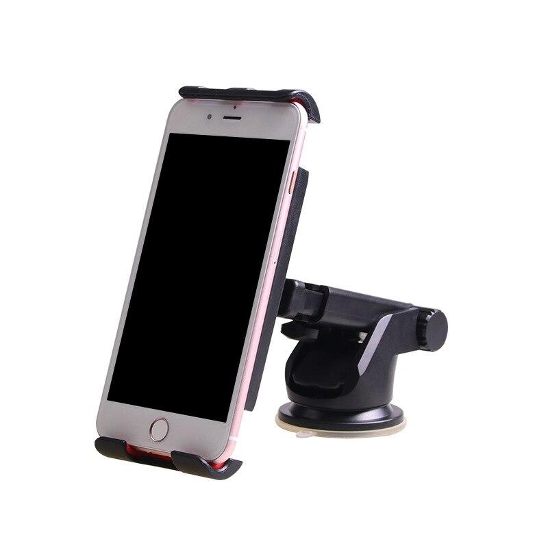 Универсальный присоске гибкие автомобилей мобильный телефон стенд Черный Авто GPS Tablet держатель для Ipad Mini iPhone Sumsung