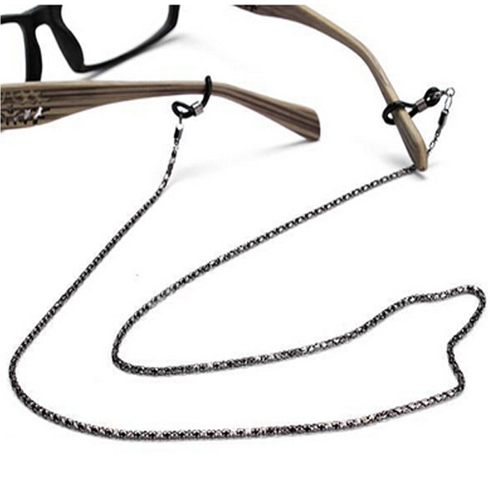 New Design style Hot sale Sunglasses Lanyard Strap Necklace Metal Eyeglass Glasses Chain Cord Reading Glasses Strap(China)