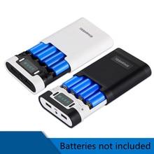 Universal 18650 Battery box Portable DIY USB Mobile Power Bank Charger Pack Box Battery Case  Power Bank Kit Storage Case