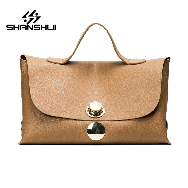 SHANSHUI Women Wallet PU Leather Handbags Shoulder Bag Luxury Quality Lady Purse New Top Brand 2017 Fashion Female Messenger Bag micocah fashion women shoulder bag 2 colors quality brand handbags for female pu leather gh50007