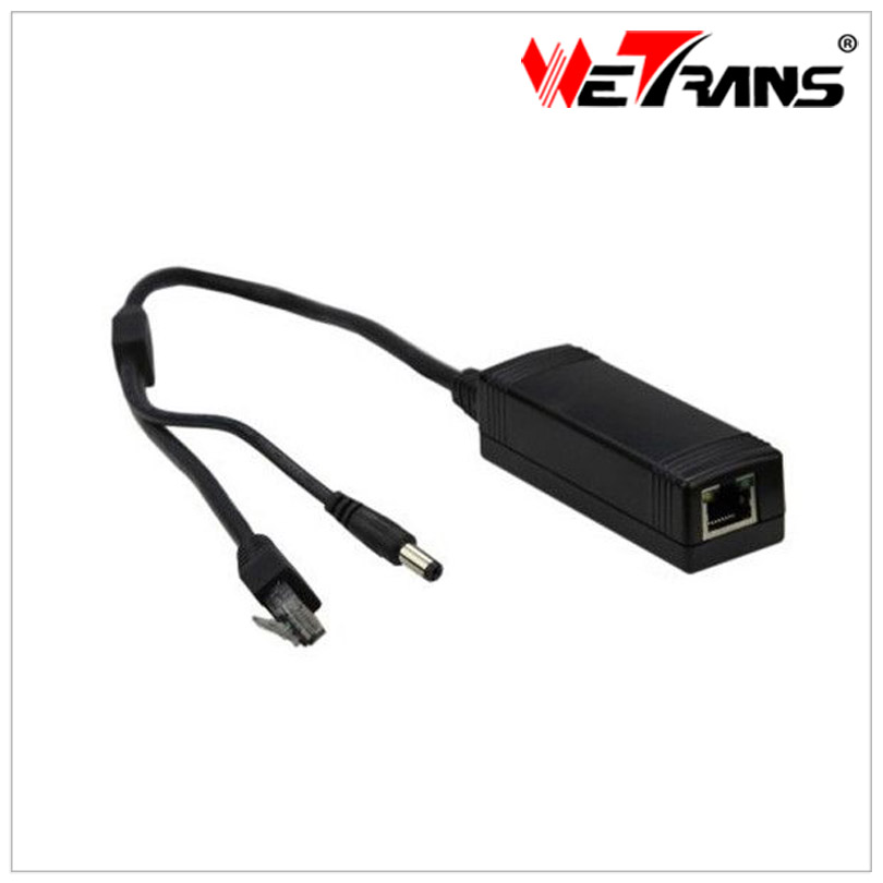 Splitter Ieee.802.af 12V DC High-Power-Cable External-Poe And 2A 10/100mbp