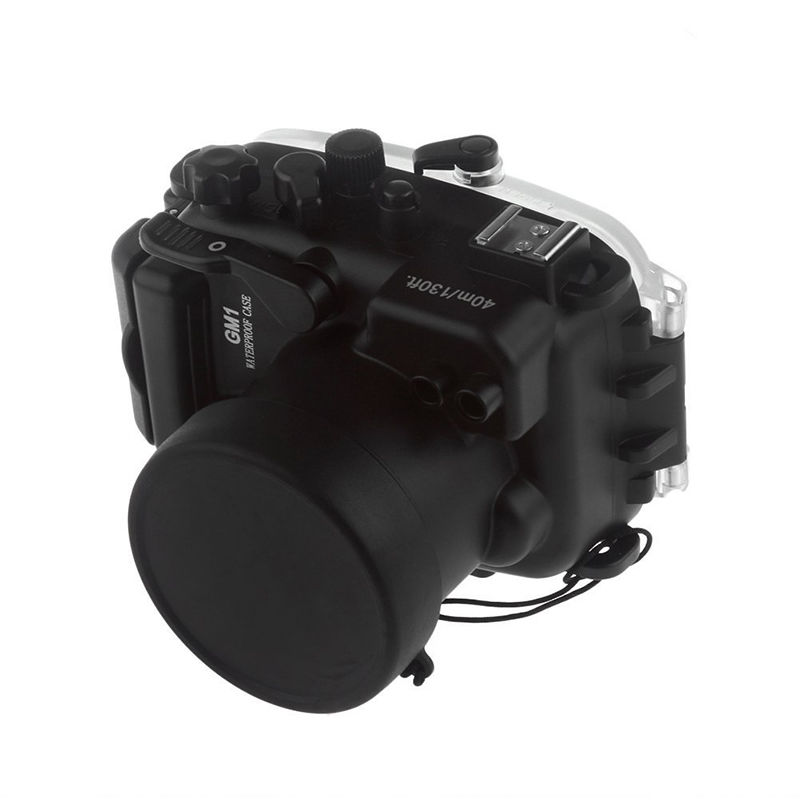 Meikon 40M Waterproof Underwater Camera Housing Case Bag for Panasonic GM1 meikon 40m waterproof underwater camera housing case bag for canon 600d t3i