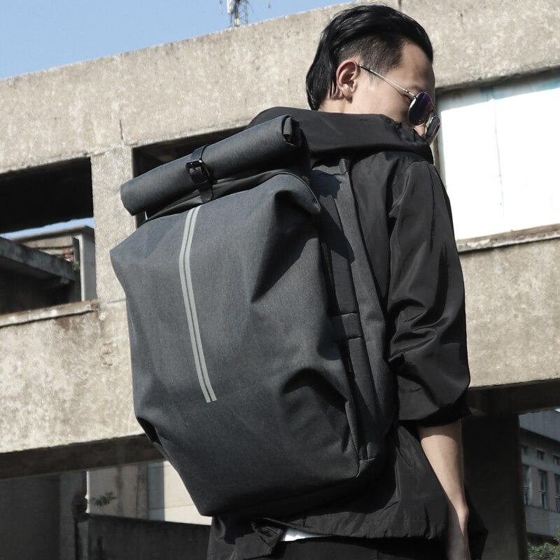 FYUZE Homens Da Moda Mochila para Laptop de 15.6 polegada À Prova D' Água de Grande Capacidade Mochila de Viagem Mochila Escolar Estudante Universitário