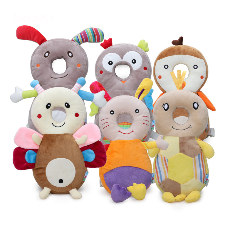 Kind-Hearted 39*18cm Cartoon Pp Cotton Baby Head Protection Pad Toddler Headrest Pillow Baby Sleep Positioner Anti Fall Cushion Baby Protect Relieving Rheumatism Pillow