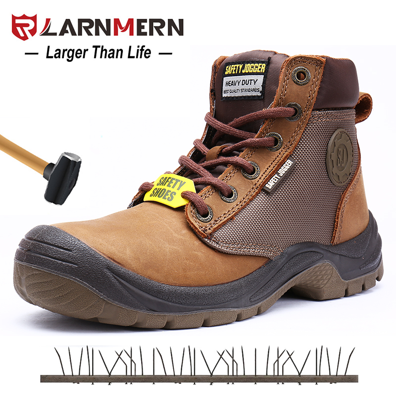 9bd7ae7ca523 US $116.84 |LARNMERN Men Work Safety Boots Shoes S3 SRC Slip Resistant Anti  static Steel Toe Outdoor Protection Footwear Waterproof-in Work & Safety ...