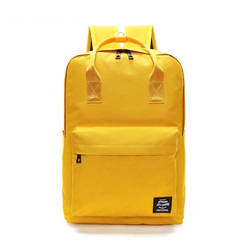 Hombre. WEI de gran capacidad Mochila mujer Preppy bolsas para la escuela de los adolescentes hombres Oxford bolsas de viaje portátil Mochila