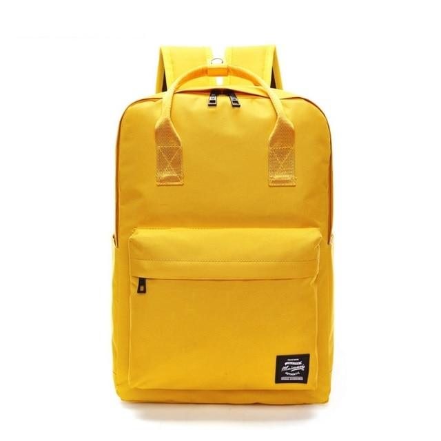Miyahouse حقيبة ظهر بسعة كبيرة للنساء Preppy مدرسة حقائب للمراهقين الرجال أكسفورد حقائب السفر كمبيوتر محمول حقيبة للظهر فينتاج Mochila