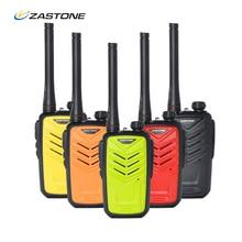 Zastone ZT-MINI8 Мини Двухстороннее Радио UHF 400-470 МГц 128CH 5 Вт Long Range Мини Портативной Рации портативные ВЧ Приемопередатчик Рация