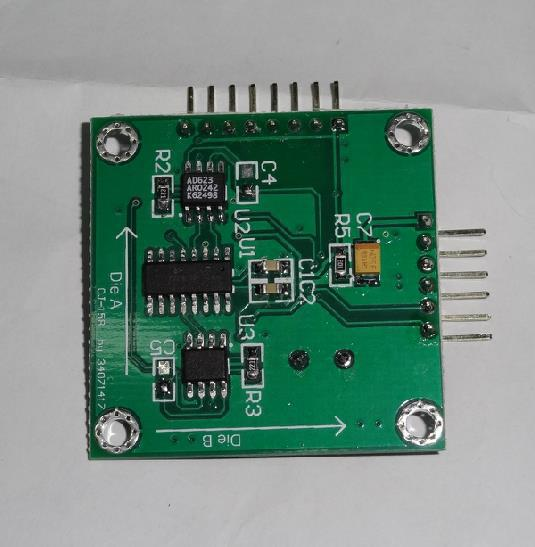 kompasový obvod hmc1022 - Free Shipping!  1pc Electronic compass module HMC1022, mega88 control, serial communications to provide schematic source