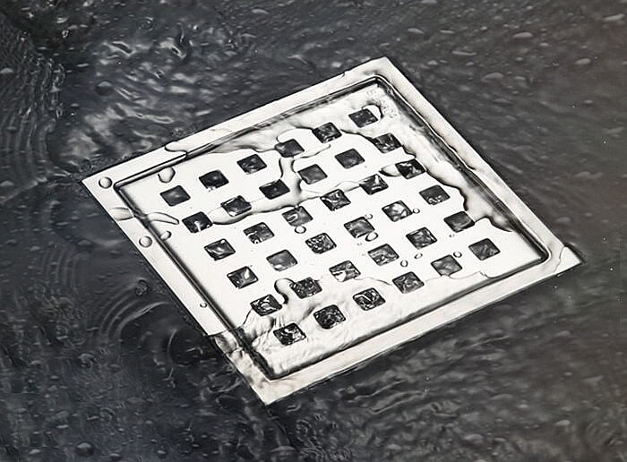 Бесплатная доставка 110×110 Плитка Вставить Площадь Отходов Этаж Решетки Ванной Душ Drain Трапных Античная Fltro Ducha Стока DR125