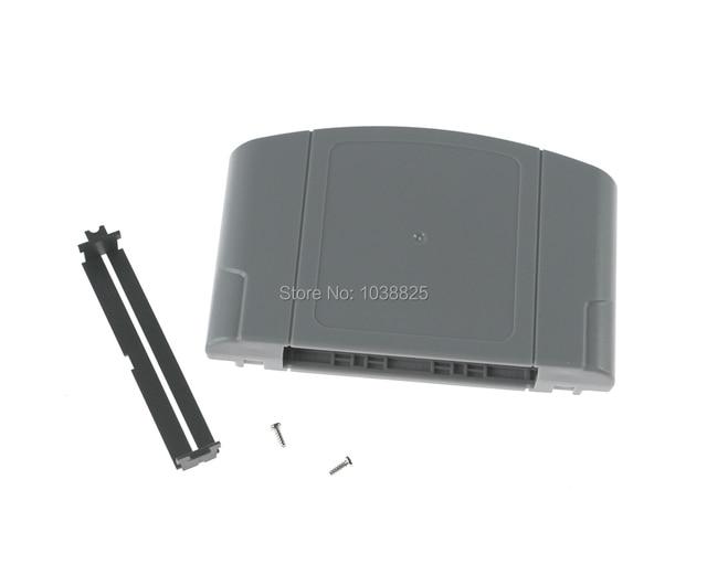 10 sets/partij Vervanging Game Card Shell voor Nintendo N64 Game Cartridge Cover Plastic Behuizing