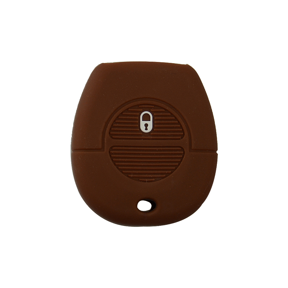1 buttons silicone car key cover for Nissan 6