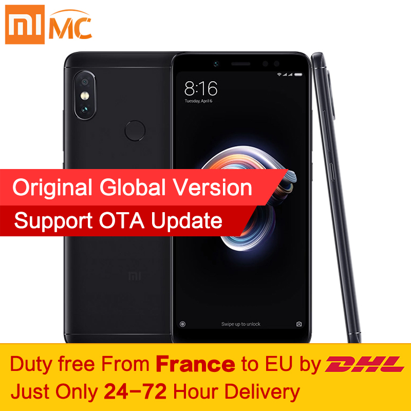 ¡Libre de impuestos! versión Global Xiaomi Redmi Nota 5 4 GB 64 GB 5,99