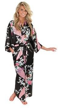RB015 Satin Robes for Brides Wedding Robe Sleepwear