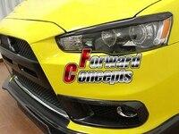 Для углеродного волокна 08-15 Lancer ES GTS Evolution X 10 JDM фары бровей век