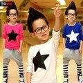 На Продажу детская одежда дети мальчики Футболки подходят для 7 8 9 10 лет гарантия хорошего качества A034