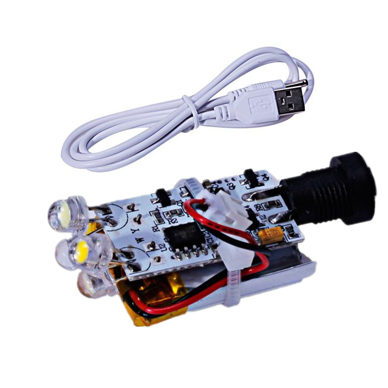 3D printing moon lamp circuit board, wick touch switch, straw hat, lamp bead touch circuit, moon light source belt