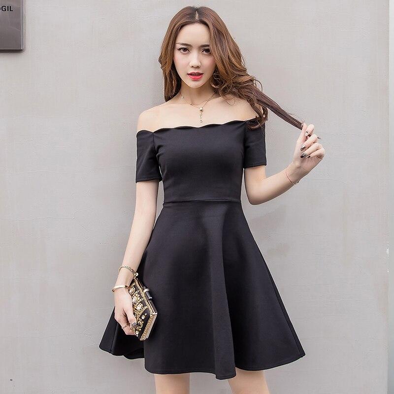 Sexy Short Black Dress Dinner