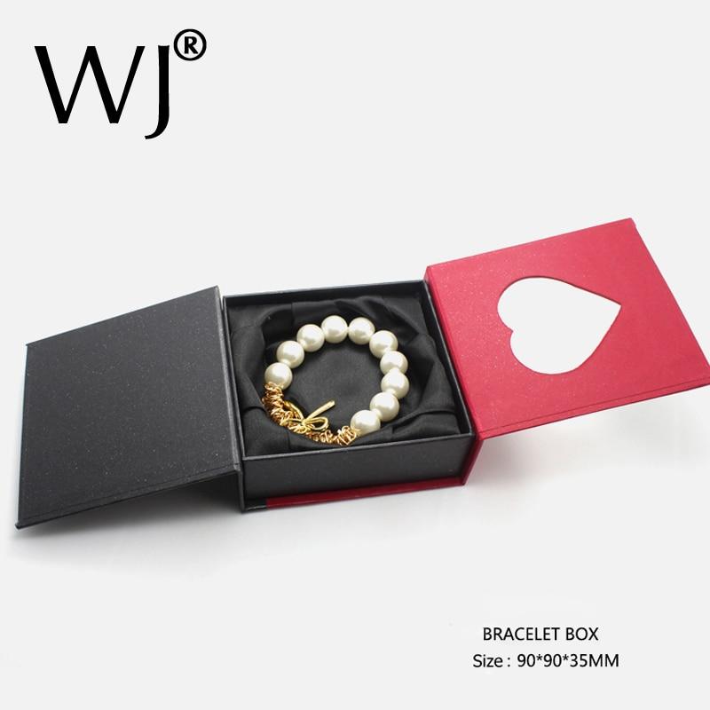 Premium Bangle Bracelet Box Black Velvet Coated Jewelry Display