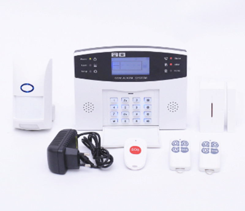 433Mhz Wireless GSM Alarm System LCD Display цена 2017