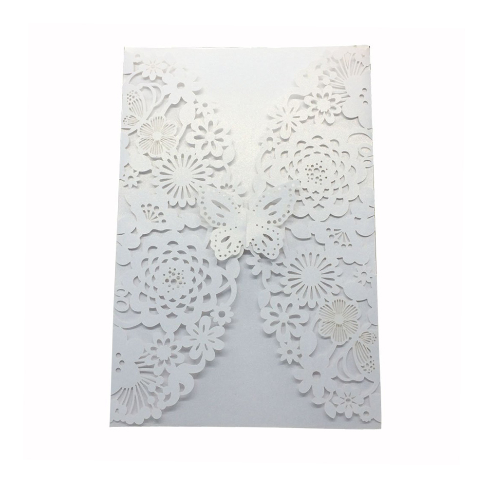 buy cheap invitation paper online 20x marriage wedding invitation cover pearl paper laser cut invitation card  v6e1 $902 buy it now pearl paper material with soft pearlescent sheen, classy .