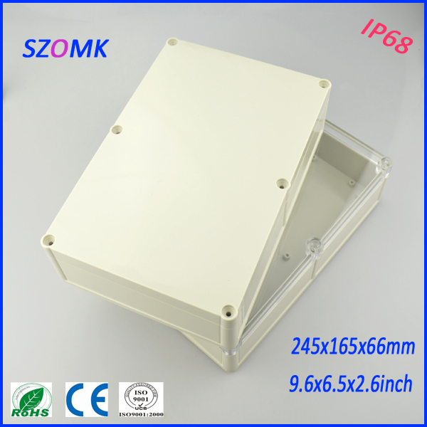 mounting enclosure junction housing (1 pcs)245*165*66mm instrument enclosure distribution box plastic enclosures electronic case nelson mandela pre intermediate level 2 cd rom
