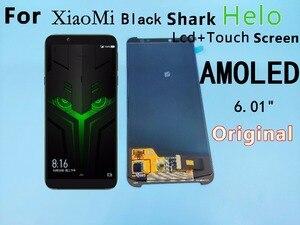 "Image 1 - 6,01 ""Für Xiaomi BlackShark Helo LCD display + touch screen digitizer montage BlackShark Helo display Schwarz shark helo display"