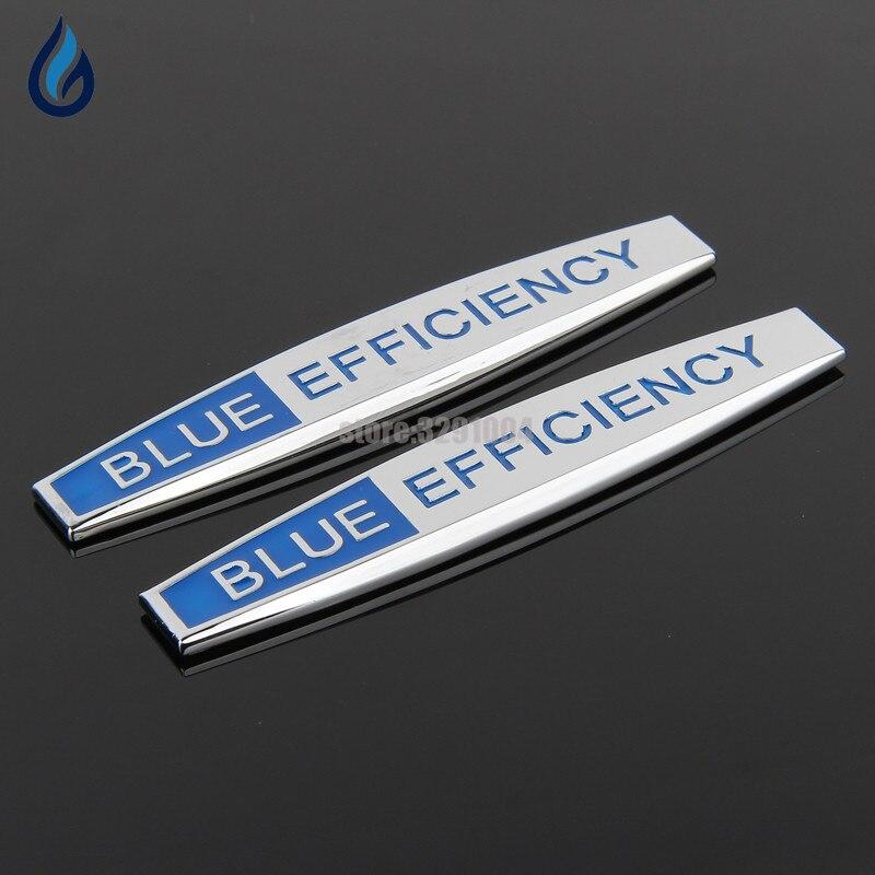 Car Fender Side Stickers Metal Emblem Decal For Mercedes Benz Blue Efficiency Logo W204 W203 W211 W210 W212 W205 Cla Gla Glc Glk car keychain key ring accessories for mercedes benz a b c e class w203 w211 w204 w124 w210 amg w212 w205 w202 w176 w168 w169