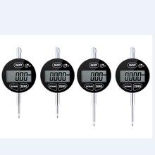 0,001 мм IP54 маслостойкий цифровой микрометр 25,4 мм Электронный микрометр метрический дюймовый точный сенсорный циферблат индикатор манометр