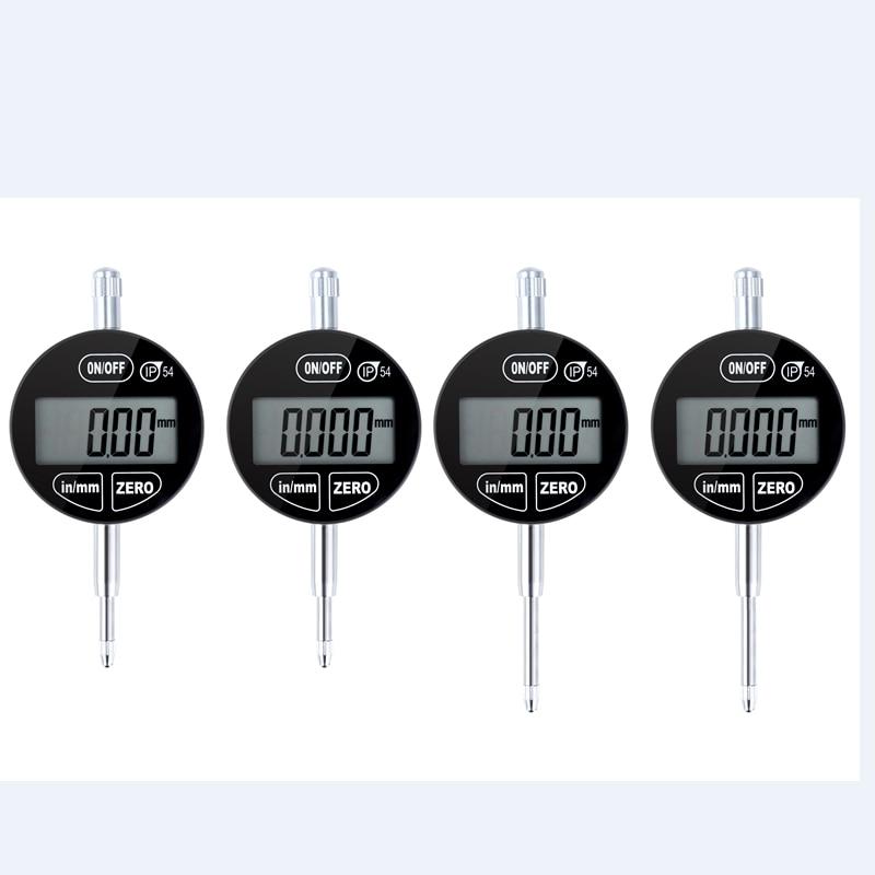 0.001mm IP54 a prova di Olio Digitale Micrometro 25.4mm Elettronico Micrometro Metrica Pollici Tocco di Precisione Dial Indicator Gauge Meter