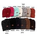 Winter Warm Unisex Knitted Ski Crochet Slouchy Hat Cap for Women Men Beanies Hip Hop Hats Hot