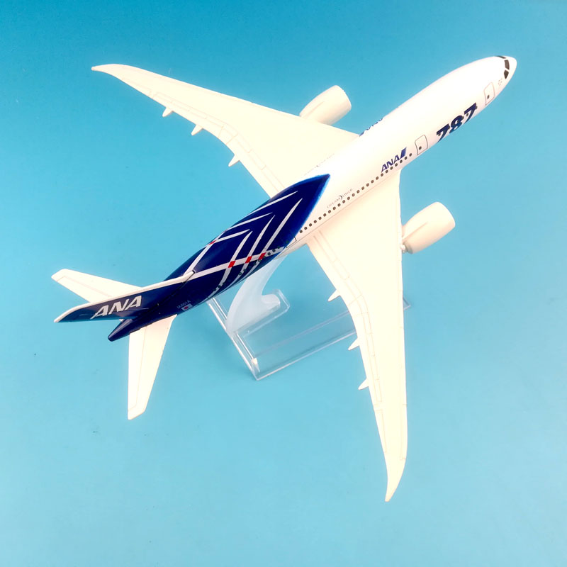 Image 4 - FREE SHIPPING 16CM  BOEING 787 ANA  METAL ALLOY MODEL PLANE AIRCRAFT MODEL  TOY AIRPLANE BIRTHDAY GIFT-in Diecasts & Toy Vehicles from Toys & Hobbies