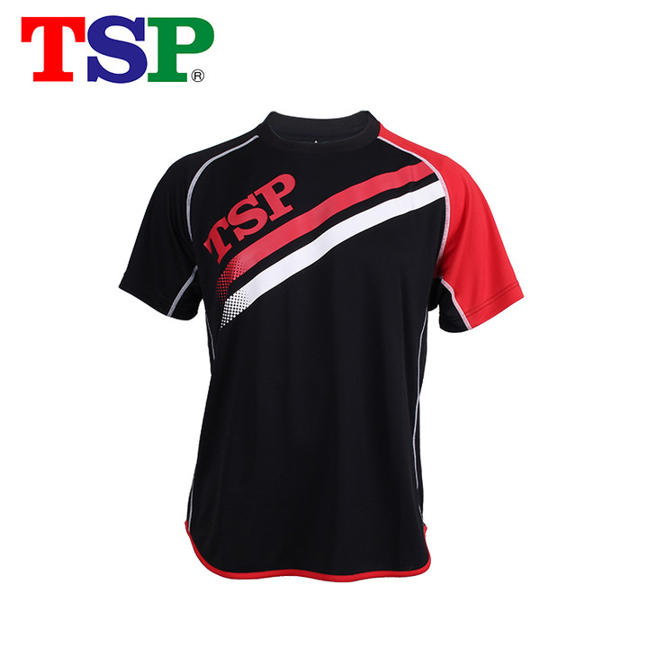 TSP Classic 83502 Table Tennis Jerseys T-shirts for Men / Women Ping Pong Cloth Sportswear Training T-Shirts