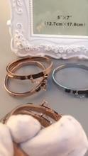 CC CB0001, pulsera de moda de color de oro blanco y oro rosa de color