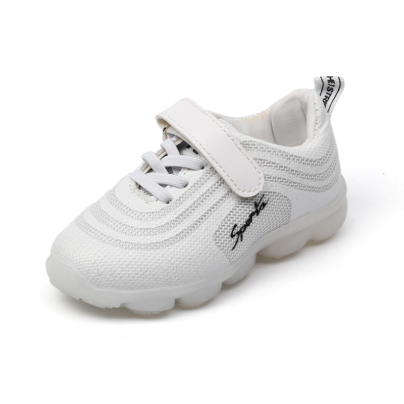 Spring ChildrenS Sneaker Shoes For Girls White Sports Shoes Boys Sneakers Fashion Girls Primary School Students Casual Shoes