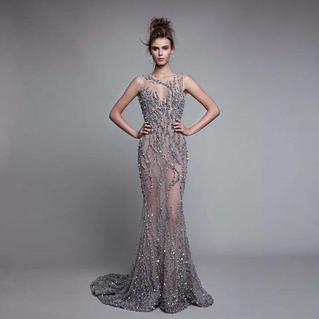 Schone abendkleider lang meerjungfrau
