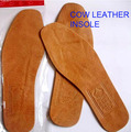 Genuine Cow leather breathable soft anti-odor casual shoes men's insole