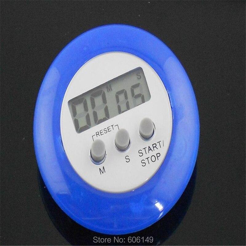 2 X мини lcd цифровой кухонный таймер обратного счета с сигналиацией магнитный зажим подставка