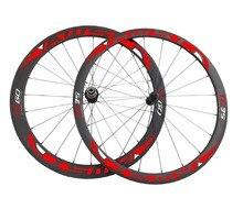 front 38mm and rear 60mm light carbon fiber wheels 700c,carbon road bike tubular Clincher wheels