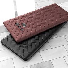 e65c22d530b Tejido suave tejido de red de silicona caso de la cubierta para Samsung  Galaxy S8 S9