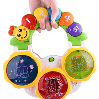 New Multi-functional Baby Pat Drum Children Early Education Musical Toys Baby Birthday Gift Toddler Fun Hand Toys