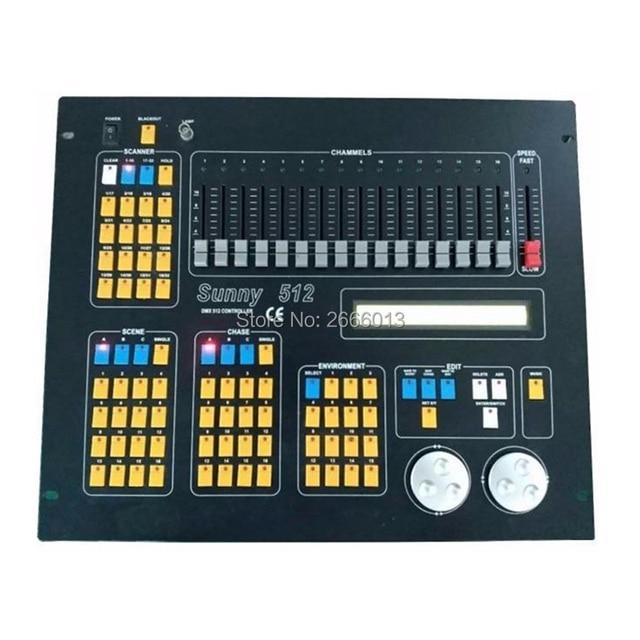 US $251 75 5% OFF|Sunny 512 DMX 512 Stage DJ Light Controller For LED  Moving Head Par Light /DMX Console /Sunny512 DMX Controller For Stage  lights-in