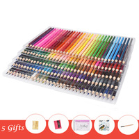 120/160 Colors Wood Colored Pencils Set Non toxic Professional Artist Painting Oil Pencil for School Drawing Sketch Art Supplies